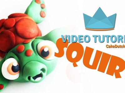 How to make the adorable Squirt from Finding Nemo - Cake Decorating Tutorial