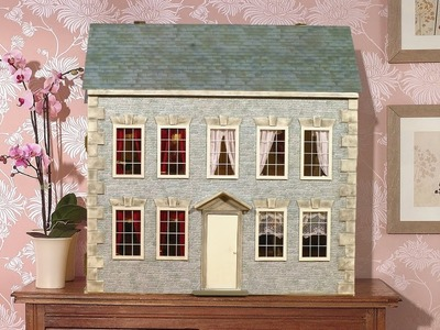 How To Re-Decorate The Outside of Your Dolls House