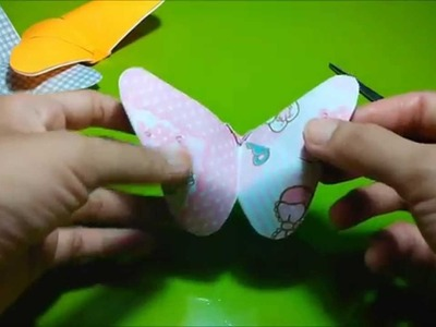 KIRIGAMI - How to make kirigami butterfly