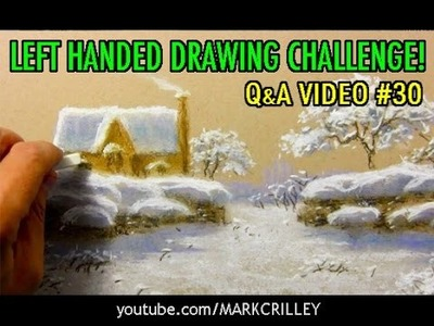 Left-Handed Drawing Challenge! [Q&A Video #30]