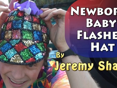 Newborn Baby Flasher Hat