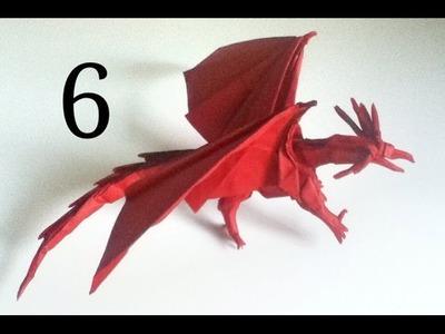 Origami Ancient Dragon tutorial (Satoshi Kamiya) - part 6