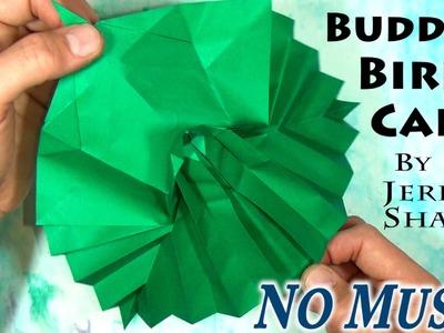 Origami Buddha Bird Pop-up Card (no music)