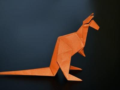 Origami: Kangaroo (Jo Nakashima) - Instructions in English (BR)