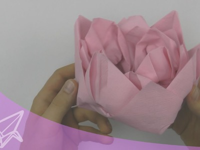 Origami Lotus Instructions