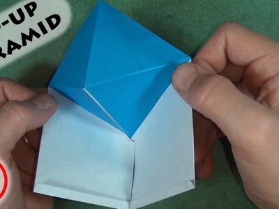 Origami Magic Pop-up Pyramid (No Music)