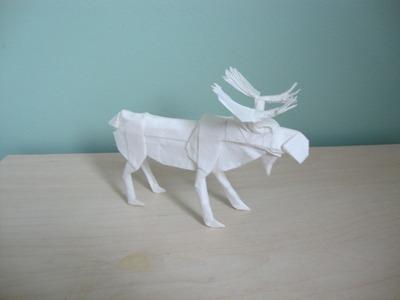 Origami Moose Robert Lang