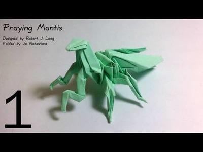Origami Praying Mantis (Robert J. Lang) - Part 1.3