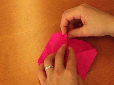 Origami Rose - The Ultimate Tutorial in HD!