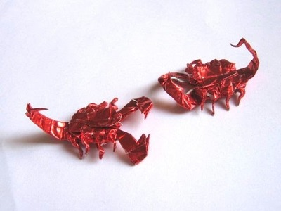 Origami Scorpion by Robert J. Lang (Part 4 of 7)