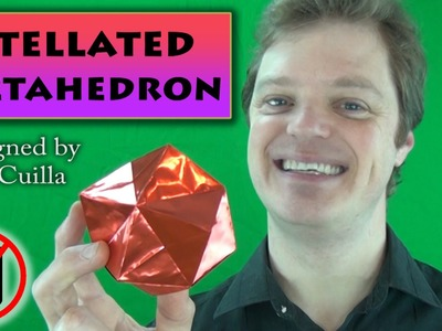 Origami Stellated Octahedron by Sam Ciulla (No Music)