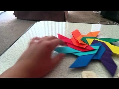 Origami Super Transforming Ninja Star (Jeremy Shafer) - Demo