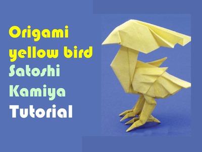 Origami yellow bird by Satoshi Kamiya - Part 2