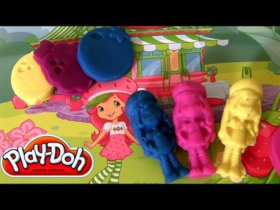 Play Doh Strawberry Shortcake AND Friends playdough creations kit by Disneycollector