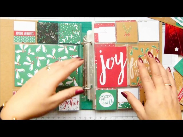 Pootles Advent Countdown 2016 #20 Project Life Tips And Ideas Hello December
