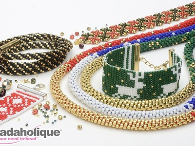 Show and Tell: Exclusive Beadaholique Holiday Kits