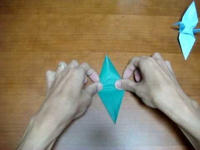 "Simple Origami Tutorial: Crane (鶴; ""Tsuru"")"