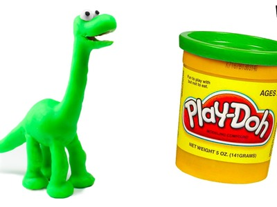 The Good Dinosaur Play-Doh Stop Motion Claymation