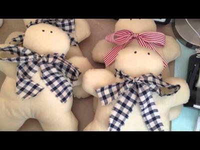 Tilda Gingerbread Men cushions