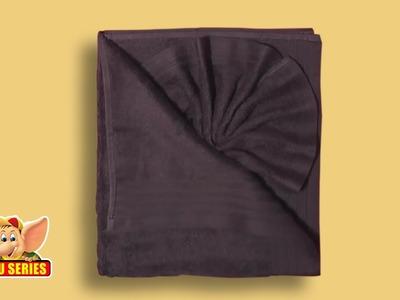 Towel Folding - Unique Towel Fold