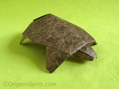 Tutorial --Origami Turtle: Two Variations