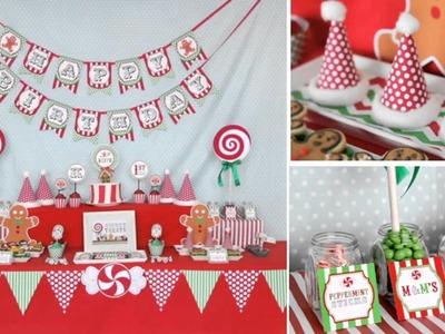 Wonderful Kids christmas party decorations ideas