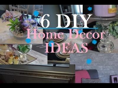6 DIY Home Decor Ideas