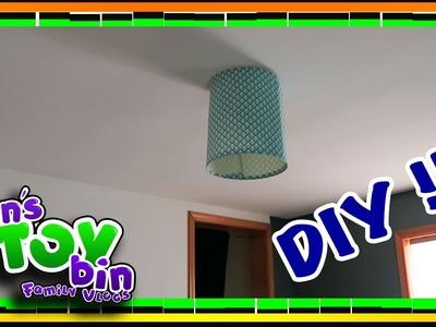 Bin's DIY Lamp Shade Refurbish!! 2.11.2017   Bin's Toy Bin Daily Vlogs