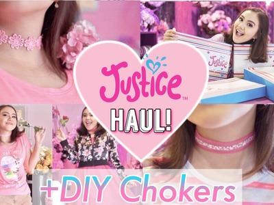 BORONG BAJU BERJUTA-JUTA?! + DIY EASY Tumblr Chokers! - Peachy Liv