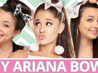DIY Ariana Grande Hair Bows | Of the Day w. The Merrell Twins