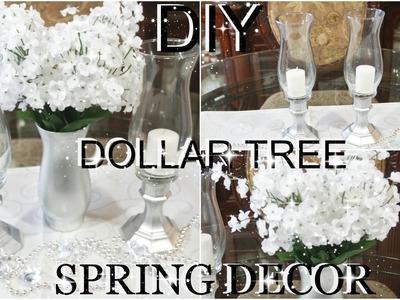 DIY DOLLAR TREE SPRING FLOWER ARRANGEMENT & CANDLE HOLDERS | PETALISBLESS????