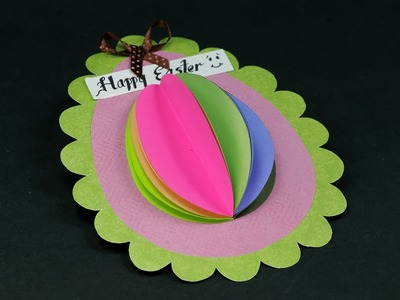 DIY Easter Egg Card - Handmade Beautiful & Easy Easter Greeting Card