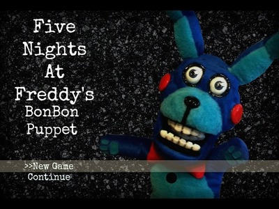 DIY Five Nights at Freddy's Bon Bon Puppet