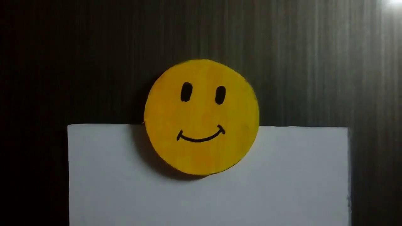 (DIY) How to make Smiley Fridge Magnet