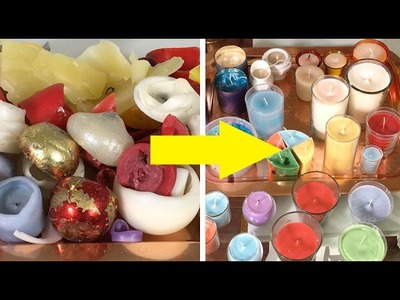 DIY: How to Reuse Old Candles ➻4A