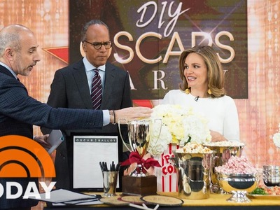 DIY Ideas For Your Oscar Party: Red Carpet Cocktails, Movie-Themed Food | TODAY