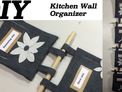 DIY Kitchen Wall Organizer Kitchen Decorations. How to Make Wall Organizer  #57