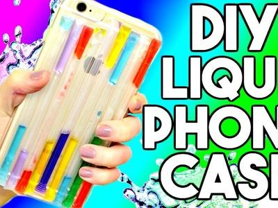 DIY LIQUID Rainbow Phone Case! HelloMaphie Liquid Phone Case Tested! - Pin or Bin