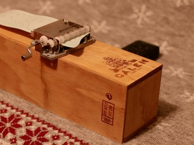 DIY Music Box. Jesus Christ Superstar. Everything's Alright