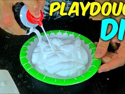 DIY Playdough with Shaving Cream
