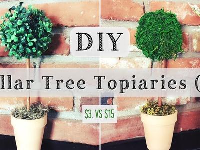 DIY Topiary | Dollar Tree Room Decor for $3
