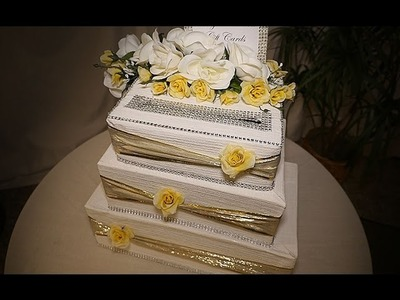 DIY | Wedding Cake Card Box