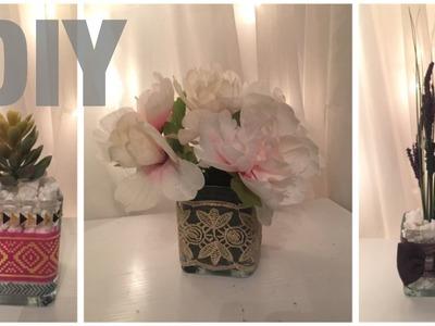 Dollar tree DIY.3 spring floral arrangements