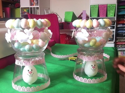 Dollar Tree Easter Diy Candy Jar, February 18th