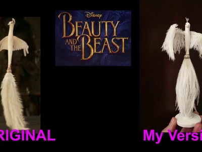 FIFI  Feather Duster   Beauty and the Beast   Tutorial   DIY