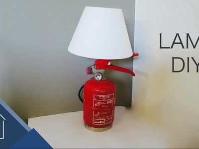 Fire extinguisher Lamp - DIY