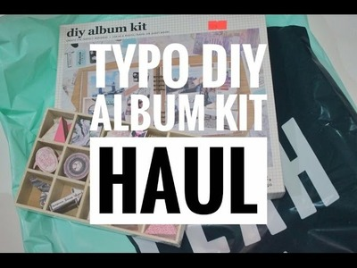 HAUL | DIY album kit by Typo