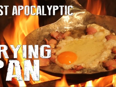 How To Make a Aluminum Frying Pan - Survival Gear DIY
