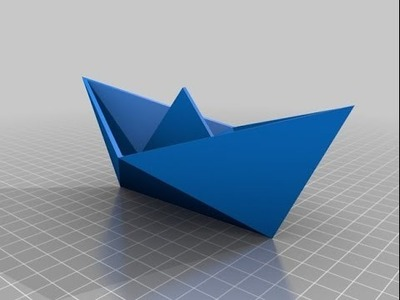 How To Make a Paper Boat -Origami Easy Tutorial