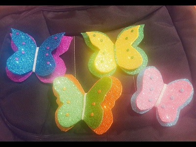 HOW TO MAKE EASY BUTTERFLYS